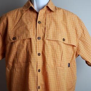 Patagonia vented short sleeve shirt Medium